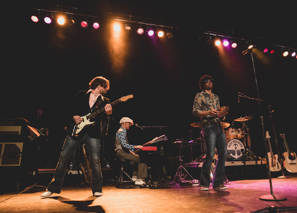 Yacht Rock Revue brings the party to the Egyptian Room. | 4.19.2019