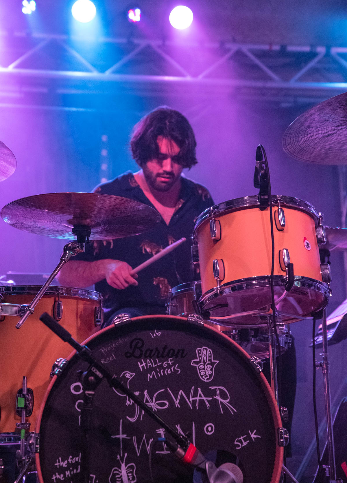 Jagwar Twin plays The Deluxe in Indianapolis, IN. on 4/30/19