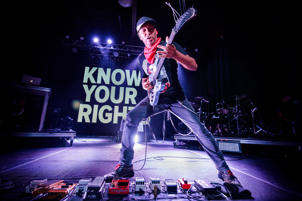 Know Your Rights! Tom Morello live at The Orange Peel in Asheville, NC | 5.05.2019