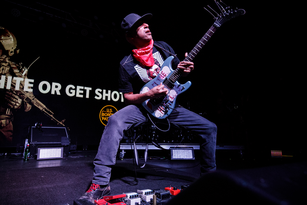 Tom Morello live at The Orange Peel in Asheville, NC | 5.05.2019