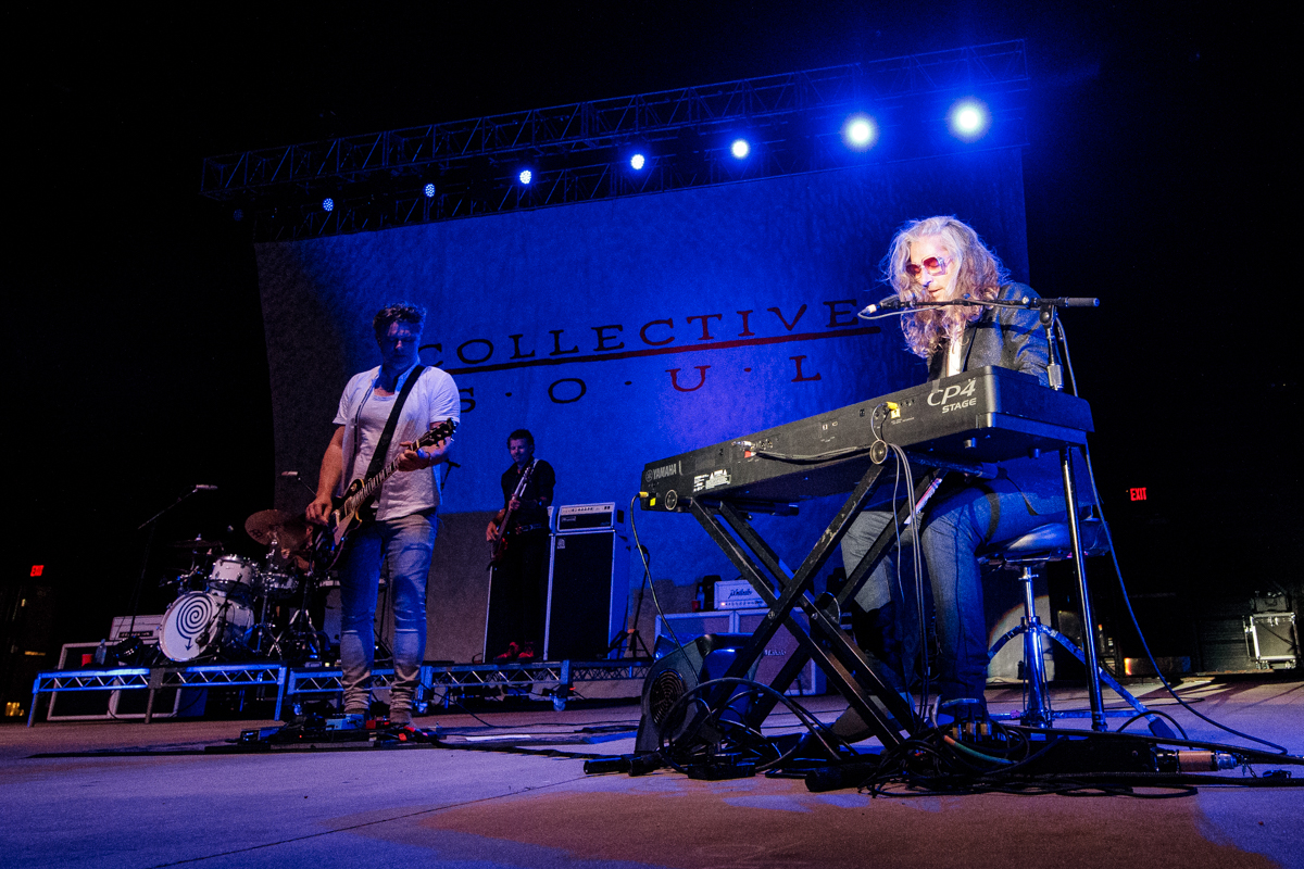 Collective Soul live at Heritage Park Amphitheatre in Simpsonville, SC on 5/28/2019.