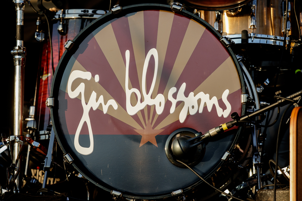 Gin Blossoms live at Heritage Park Amphitheatre in Simpsonville, SC on 5/28/2019.