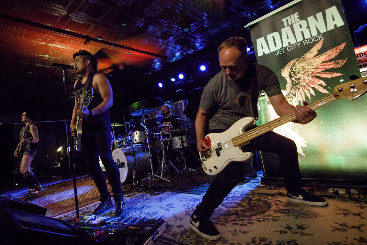 The Adarna live at The Spinning Jenny in Greer, SC on 6/13/2019.