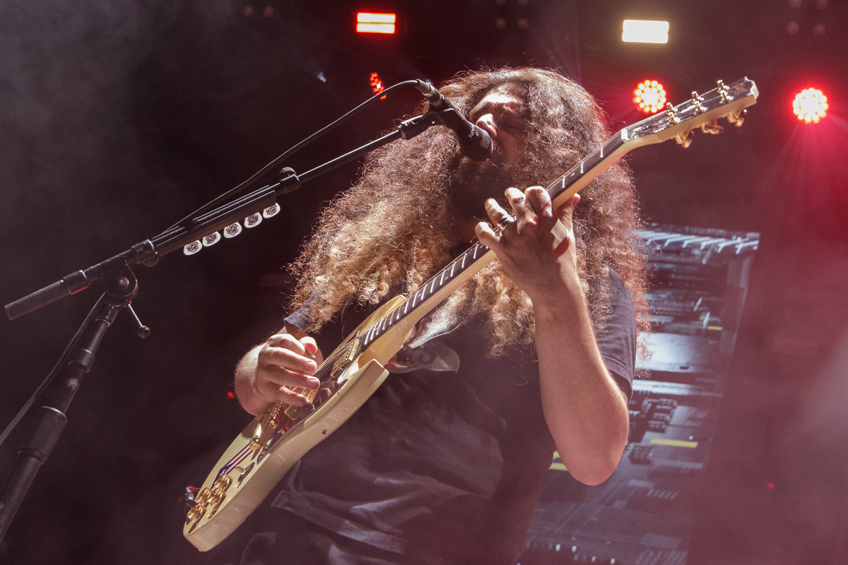 Coheed and Cambria live at Heritage Park Amphitheatre in Simpsonville, SC on 6/01/2019.