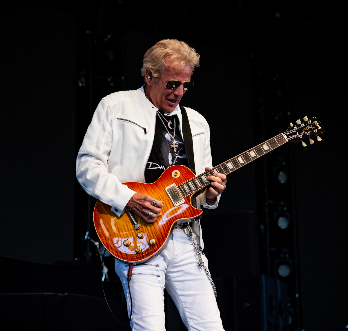 Don Felder performs at Hollywood Casino Amphitheatre in Tinley Park, IL on 06/07/2019.