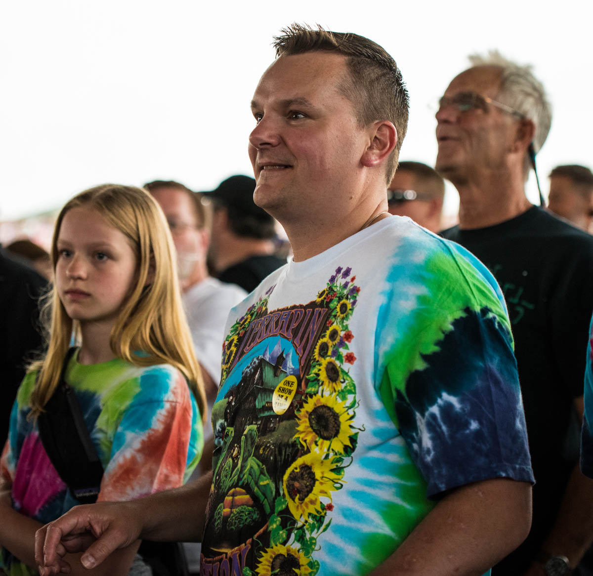 So fun seeing so many families pass their love of Dead & Co. down to the next generation!