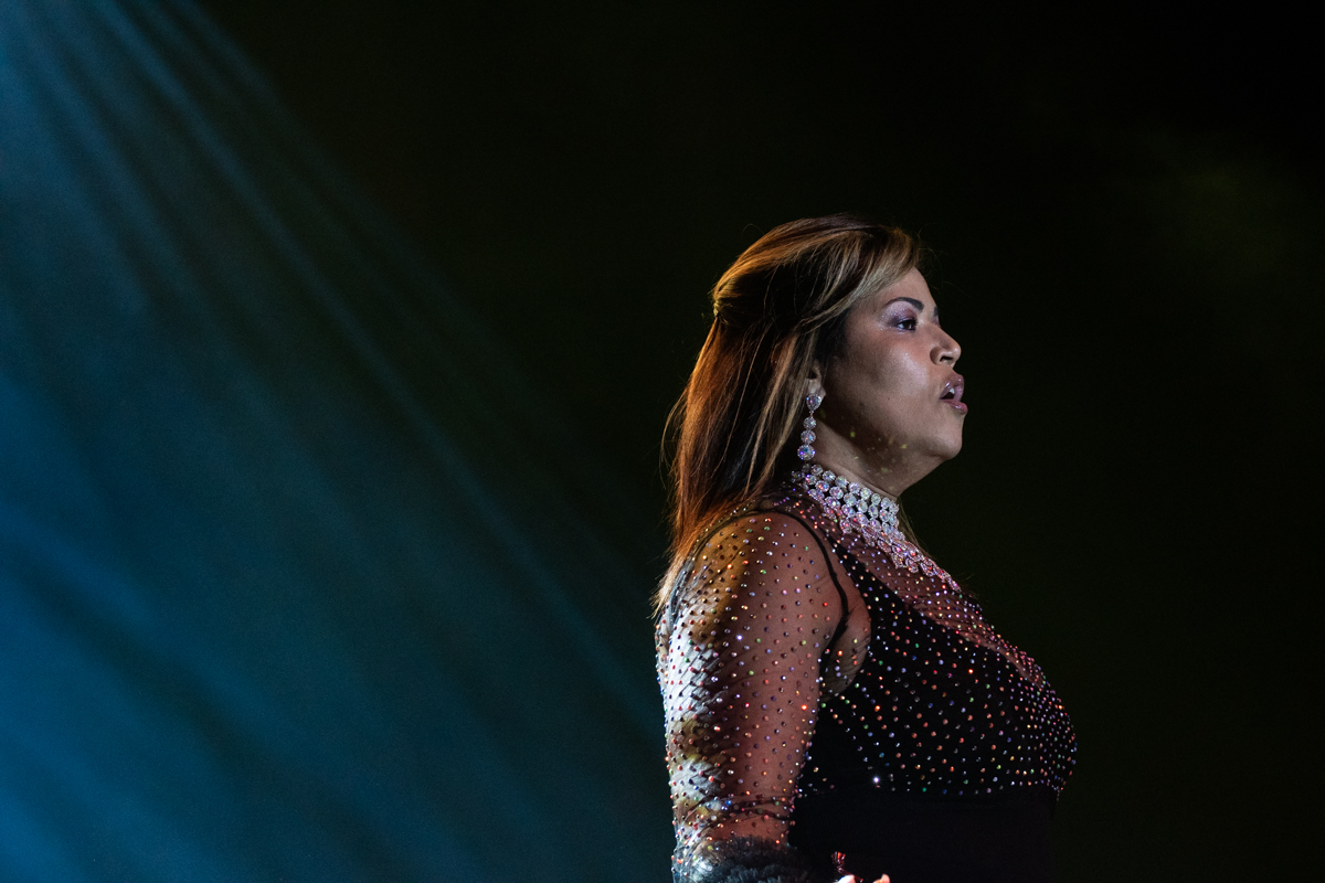 Judy Torres at the Hard Rock Event Center in Hollywood, Fl on June 22, 2019