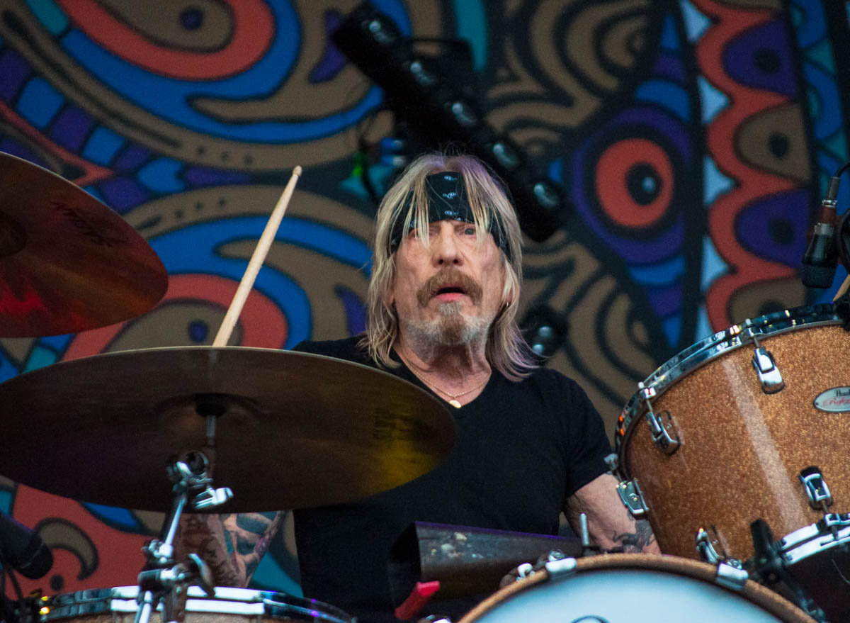 Matt Abts, drummer for Gov't Mule || The Lawn at White River State Park - Indianapolis, IN ||  06/23/19