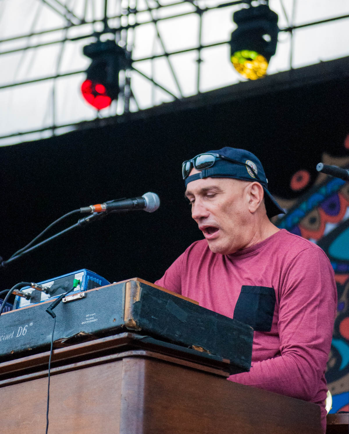 Danny Louis, keyboardist for Gov't Mule || The Lawn at White River State Park - Indianapolis, IN ||  06/23/19