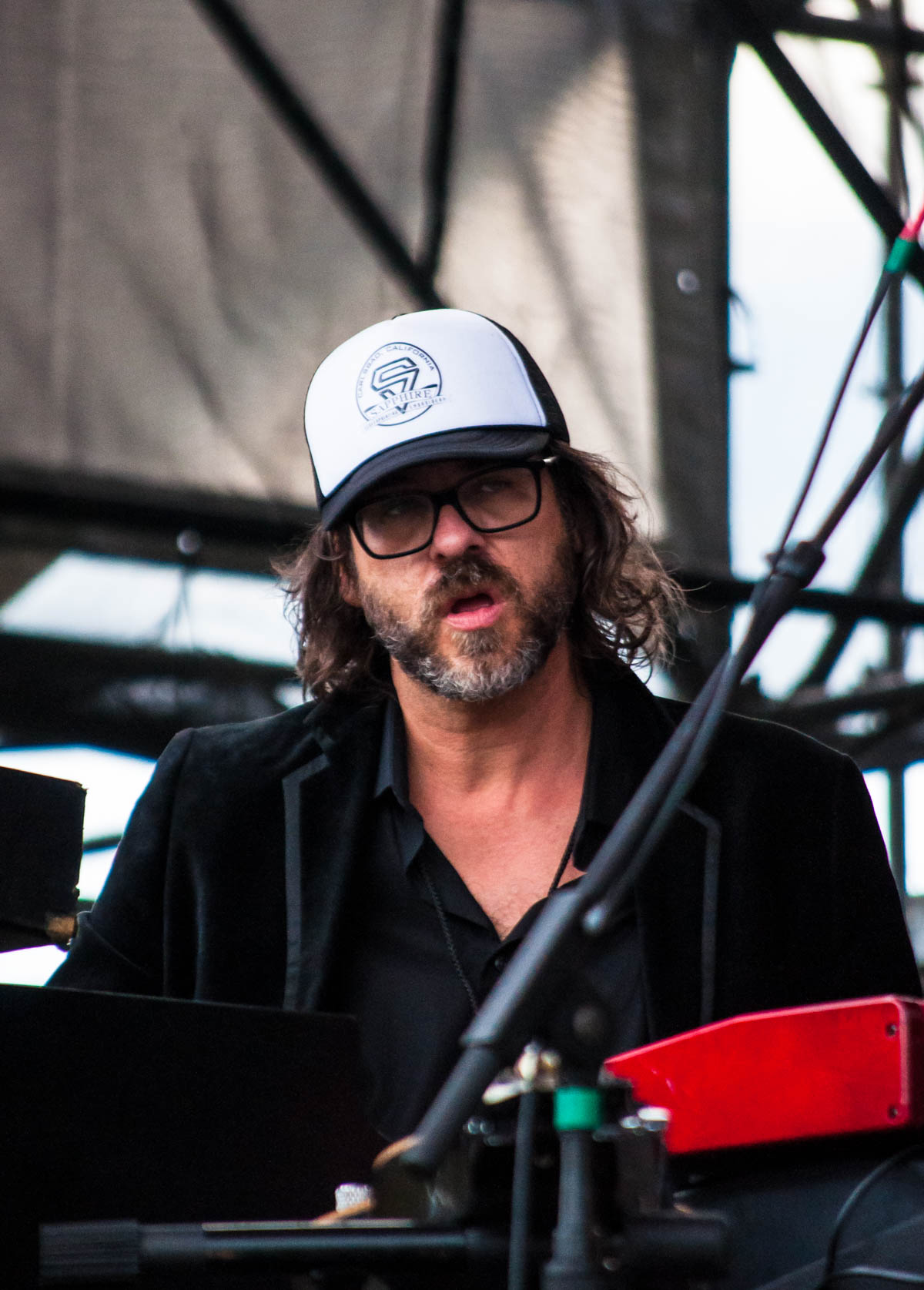David Veith, keyboardist for KDTU ||  The Lawn at White River State Park || Indianapolis, IN || 06/23/19