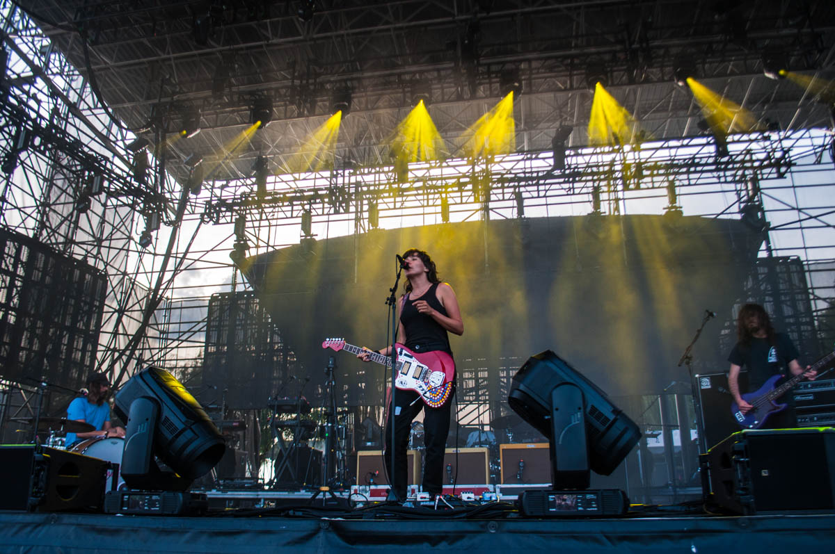 Courtney Barnett gives an amazing performance at The Lawn at White River State Park in Indianapolis, IN   06/26/19  