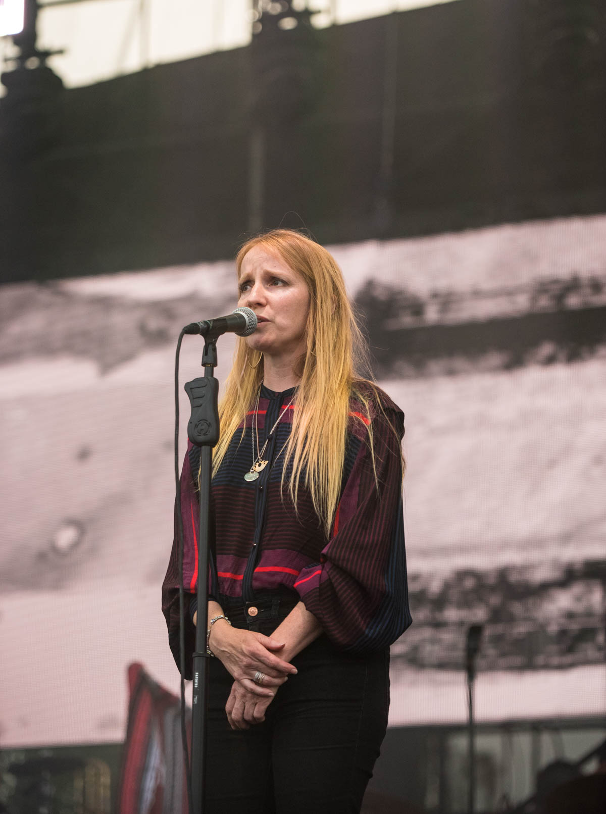 Special Guest Zoe Randell sat in with The National at The Lawn at White River State Park in Indianapolis, IN. | 06/26/2019 |
