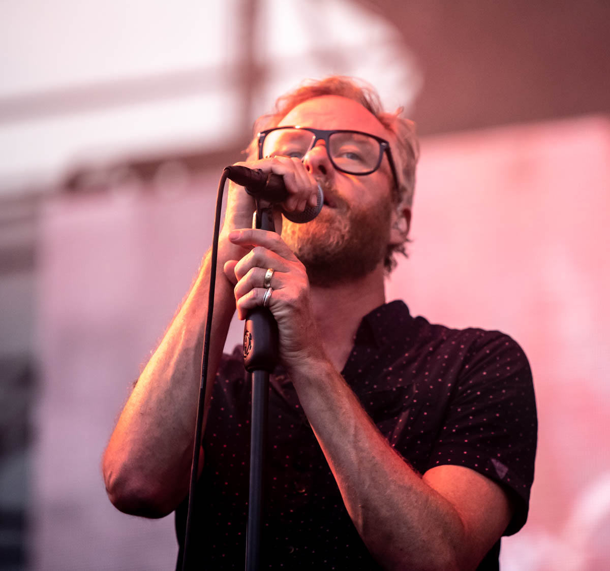 Matt Berninger of The National | The Lawn at White River State Park | Indianapolis, IN  | 06/26/19 |