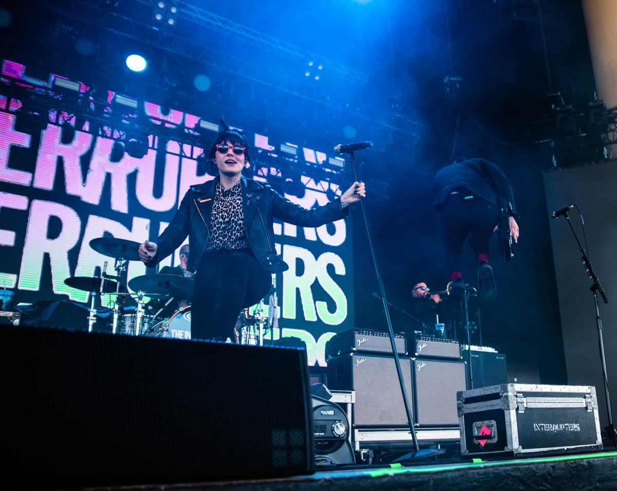 The Interrupters || Ruoff Music Center || Noblesville, IN. | 07/12/19