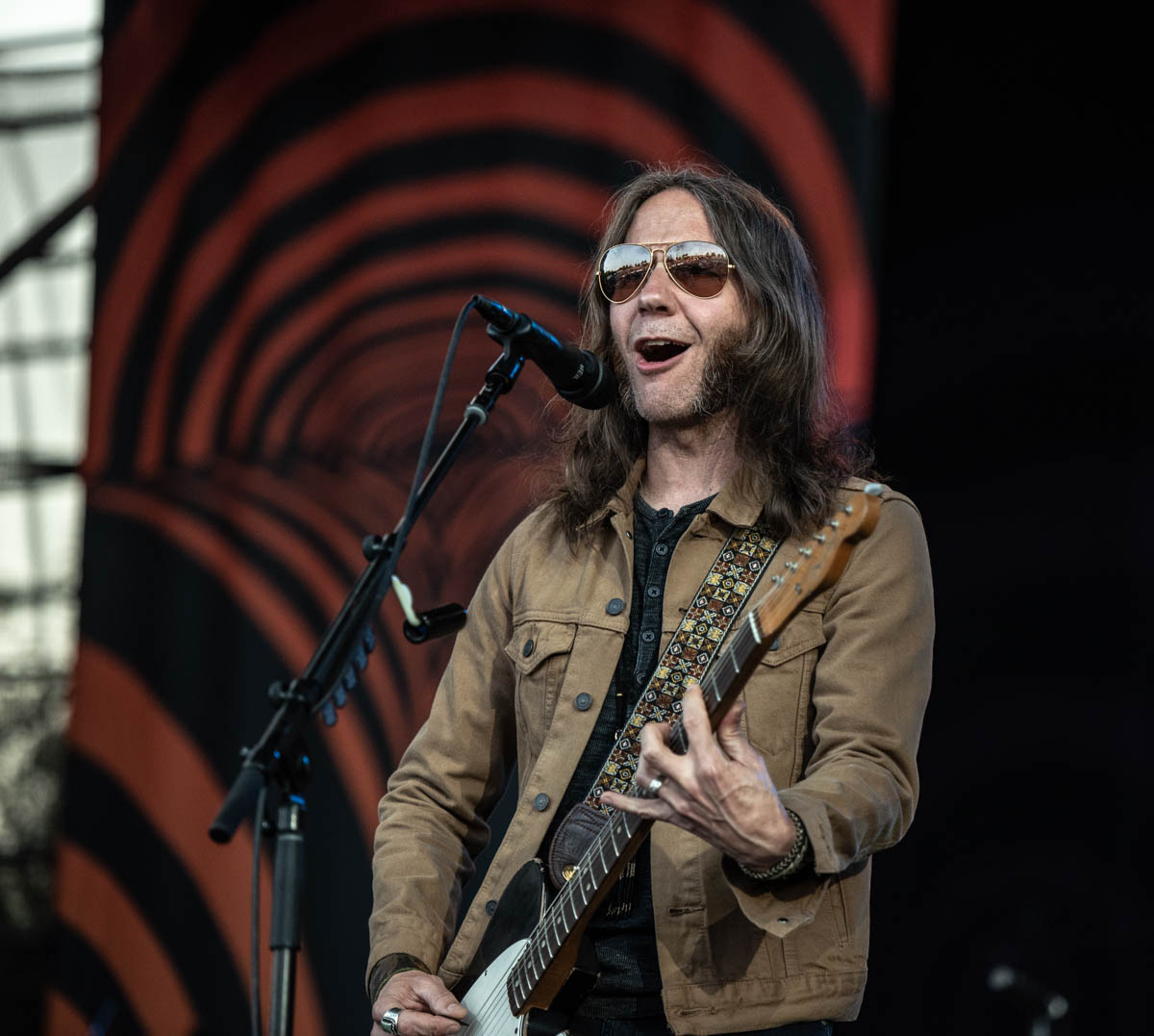 Blackberry Smoke is 2nd act on the Wheels of Soul tour 2019 |  The Lawn at White River State Park | Indianapolis, IN. | Photos by: ©Pix Meyers 2019