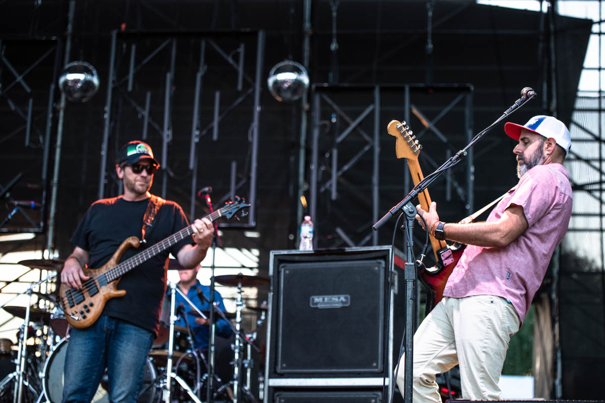 Members of Moe., Blues Traveler & G. Love treated fans to a collaborative set at The Lawn at White River | Indianapolis, IN. | 07/31/19 | Photos by: ©Pix Meyers 2019