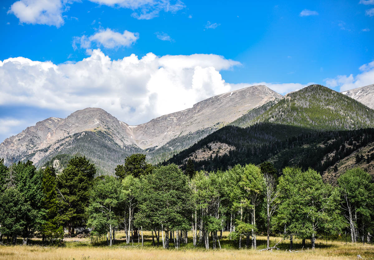 View upon entering the park | Rocky Mountain National Park | Estes Park, CO. | Photos: ©Pix Meyers 2019