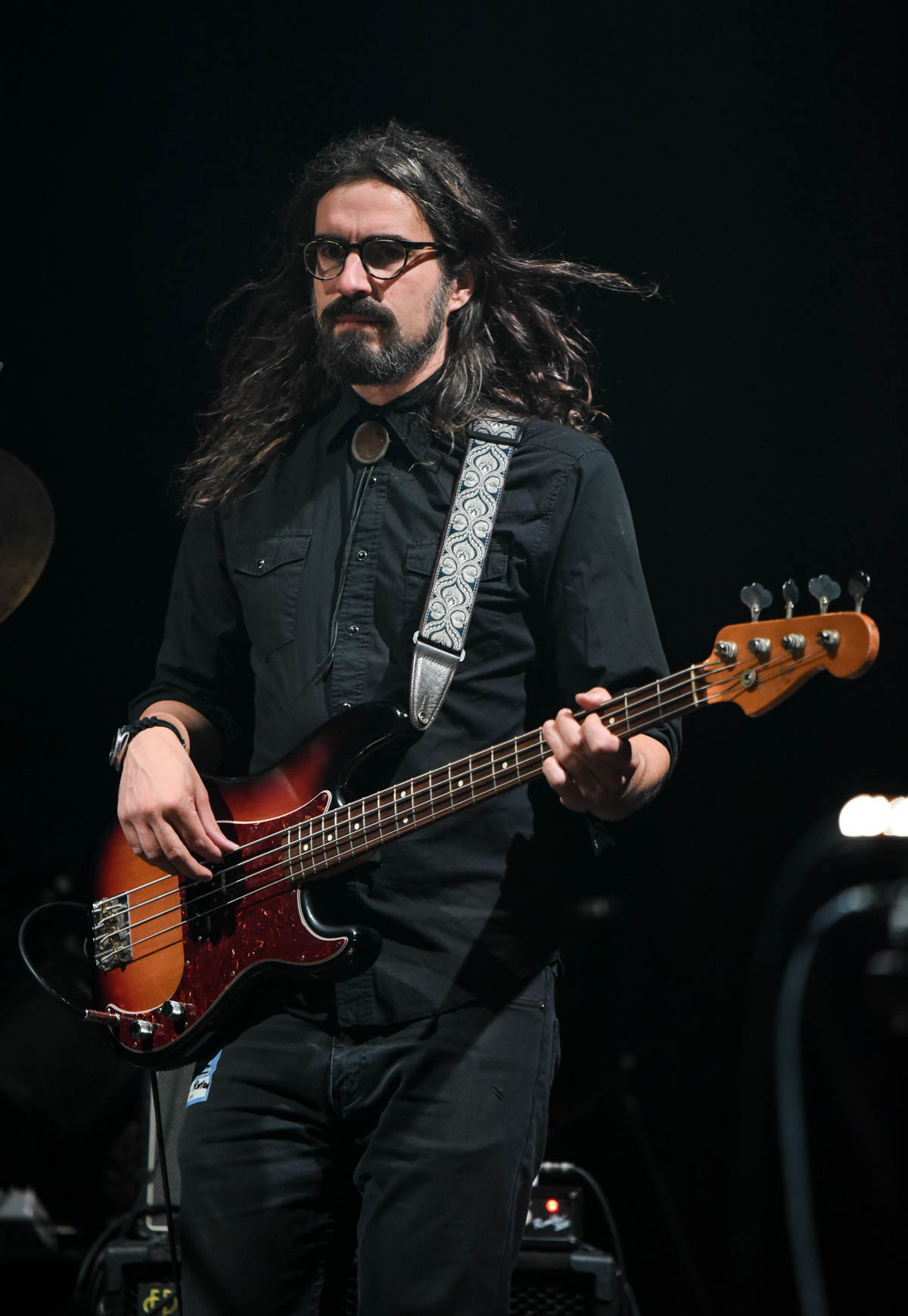 Jeff Leonard  of Fruition | Red Rocks Amphitheatre | Morrison, CO. | 09/05/2019 | Photos: ©Pix Meyers 2019