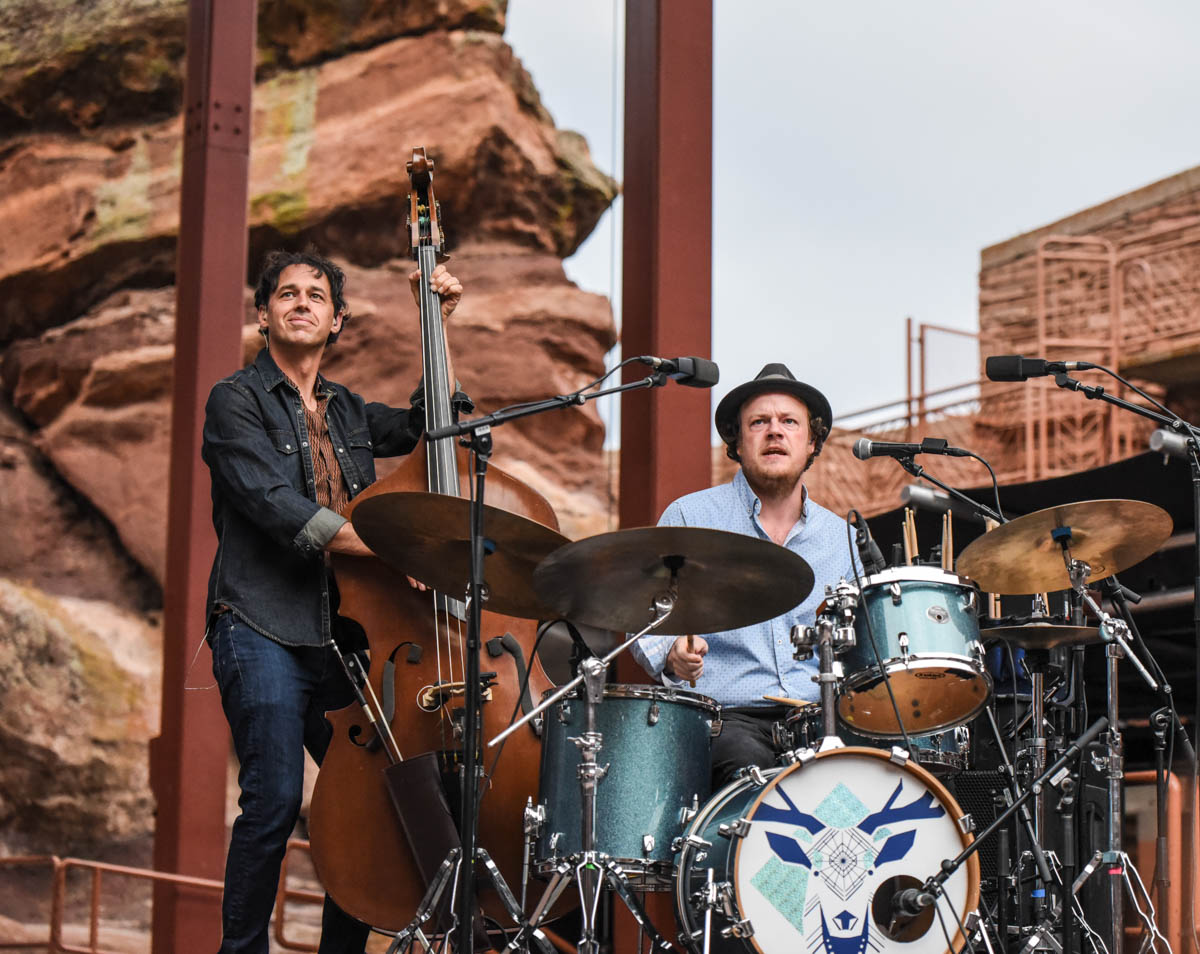 Barrett Smith and Mike Ashworth of Steep Canyon Rangers | Red Rocks Amphitheatre | Morrison, CO. | 09/05/2019 | Photos: ©Pix Meyers 2019