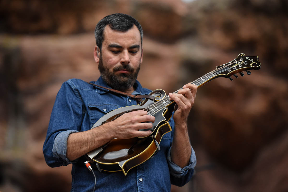 Mike Guggino of Steep Canyon Rangers | Red Rocks Amphitheatre | Morrison, CO. | 09/05/2019 | Photos: ©Pix Meyers 2019
