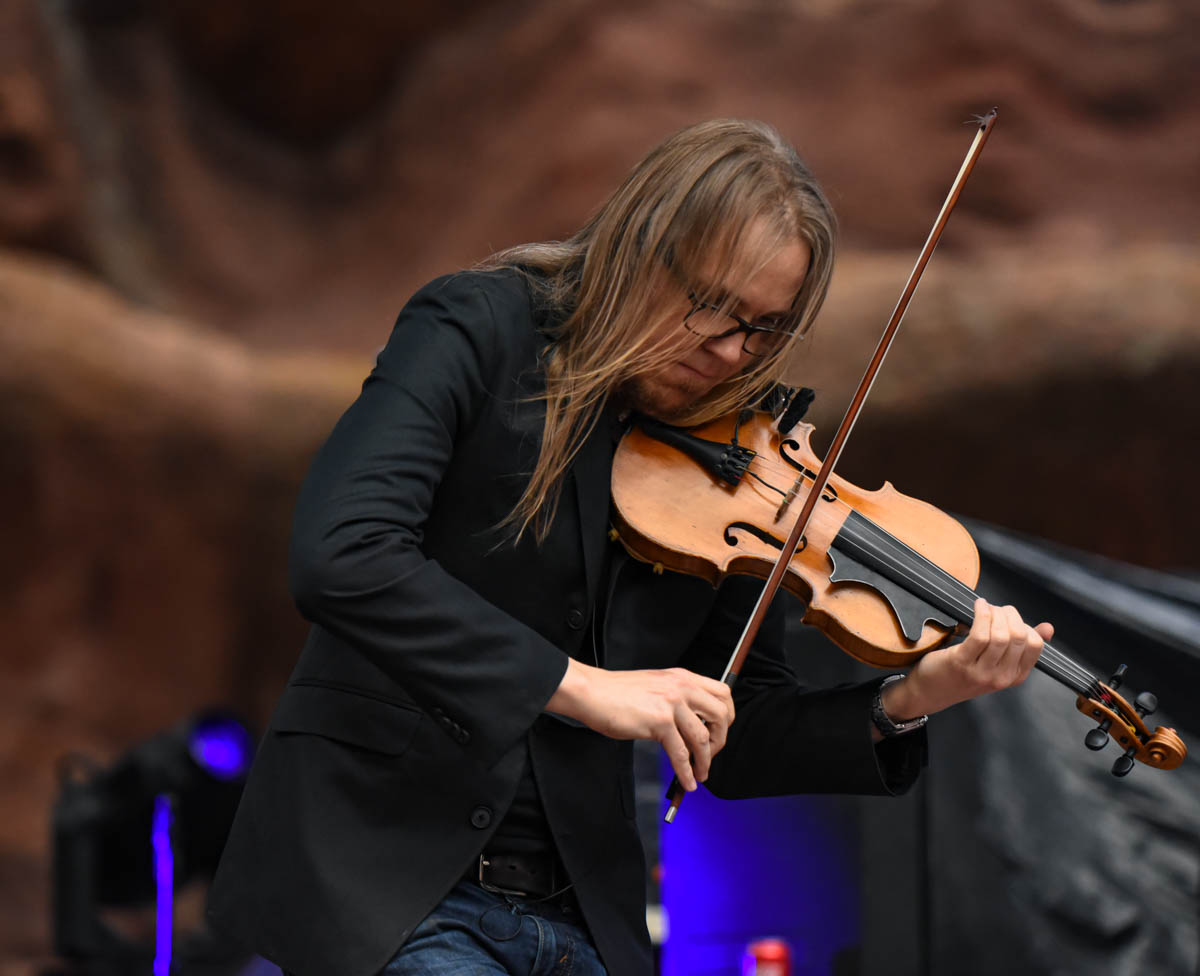 Nicky Sanders of Steep Canyon Rangers | Red Rocks Amphitheatre | Morrison, CO. | 09/05/2019 | Photos: ©Pix Meyers 2019