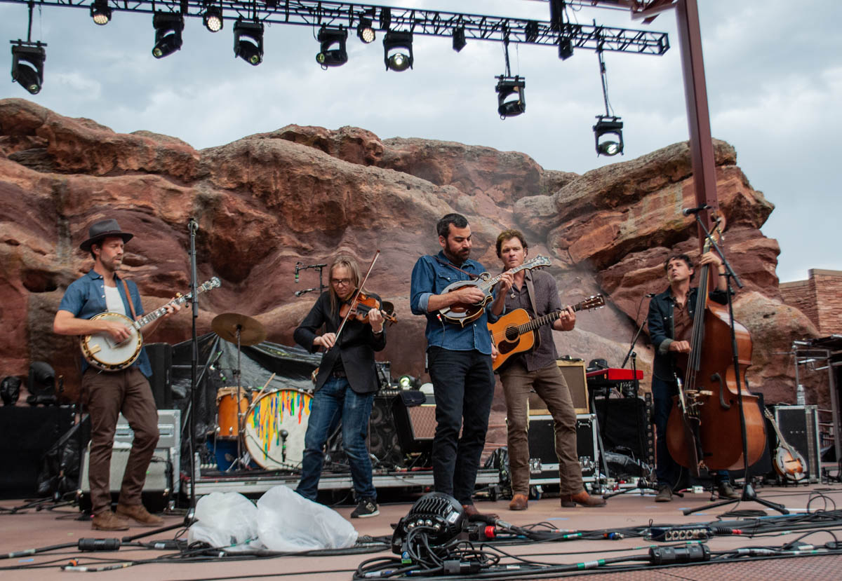 Steep Canyon Rangers | Red Rocks Amphitheatre | Morrison, CO. | 09/05/2019 | Photos: ©Pix Meyers 2019