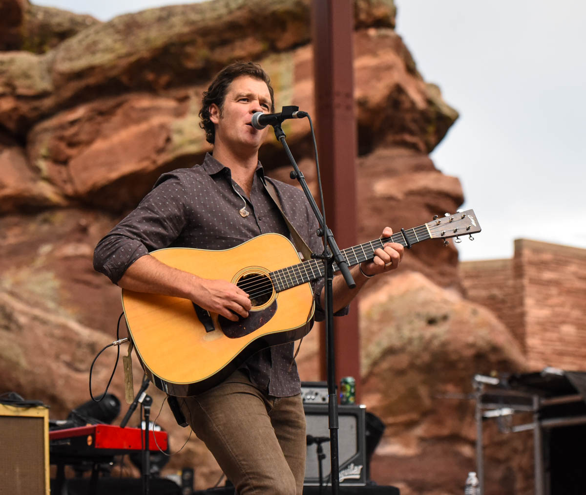 Woody Platt of Steep Canyon Rangers | Red Rocks Amphitheatre | Morrison, CO. | 09/05/2019 | Photos: ©Pix Meyers 2019