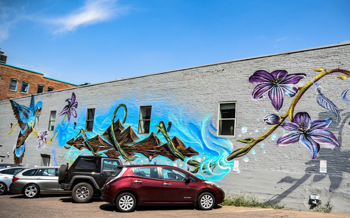 Street Art | River North Arts District (RINO) | Denver, CO. | 09/06/2019 | Photos: ©Pix Meyers 2019