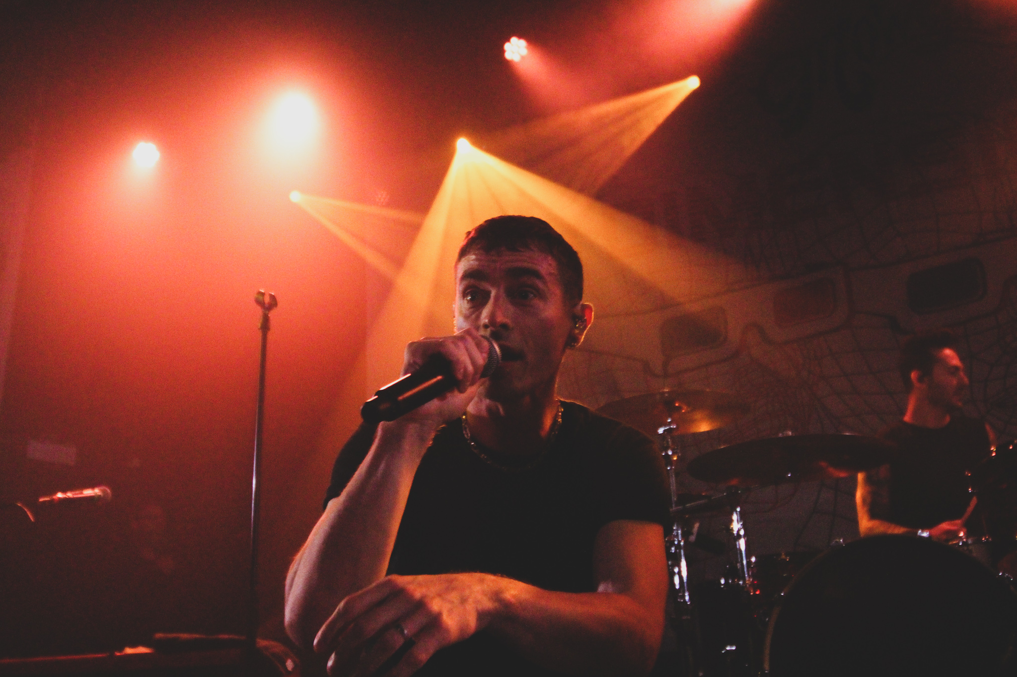 David Boyd of New Politics at The Metro in Chicago, IL on 11/12/2019- Photo; Abby Hamann
