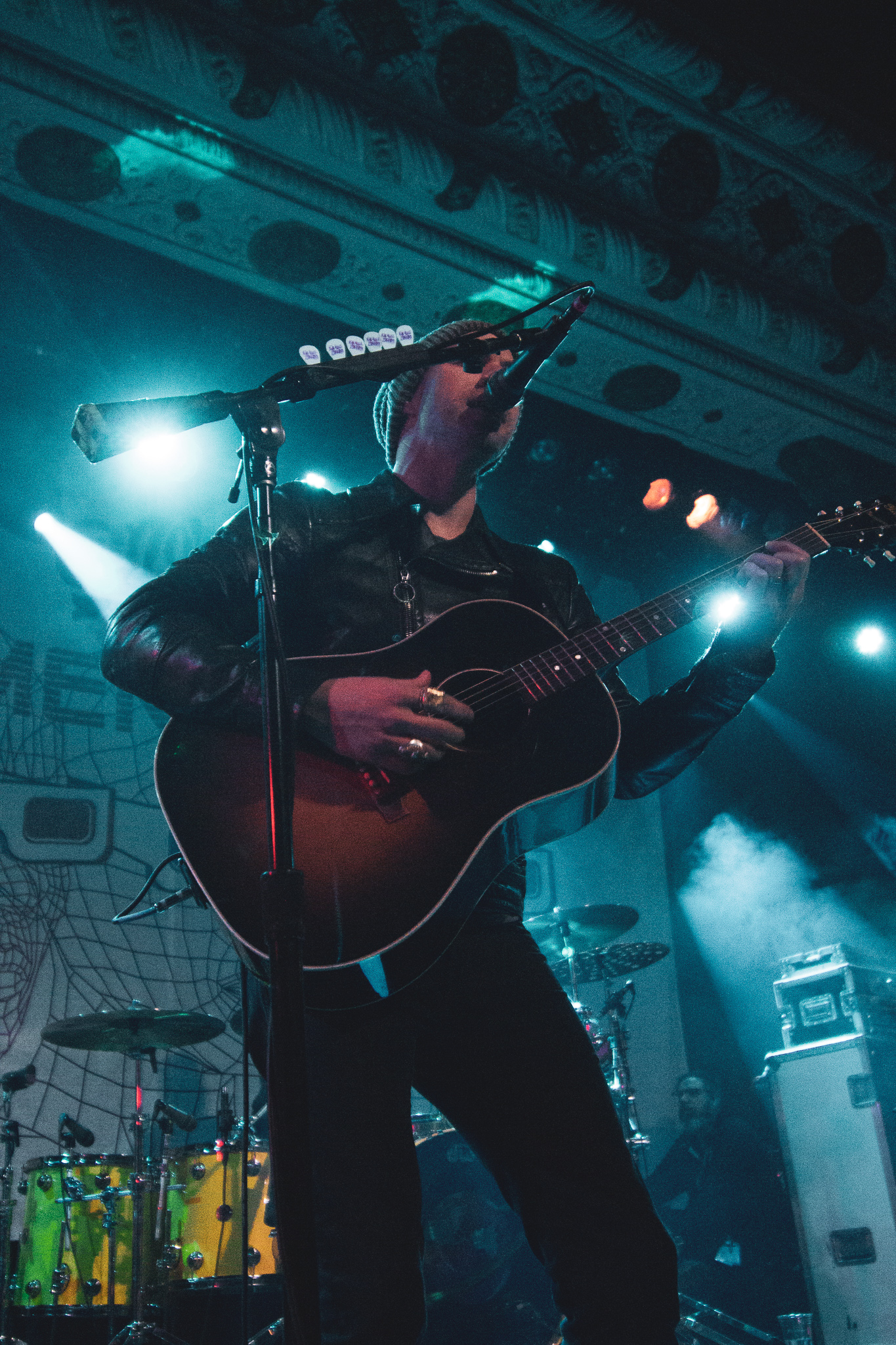 Tim Lopez of The Plain White T's at The Metro in Chicago, IL on 11/12/2019. Photo: Abby Hamann