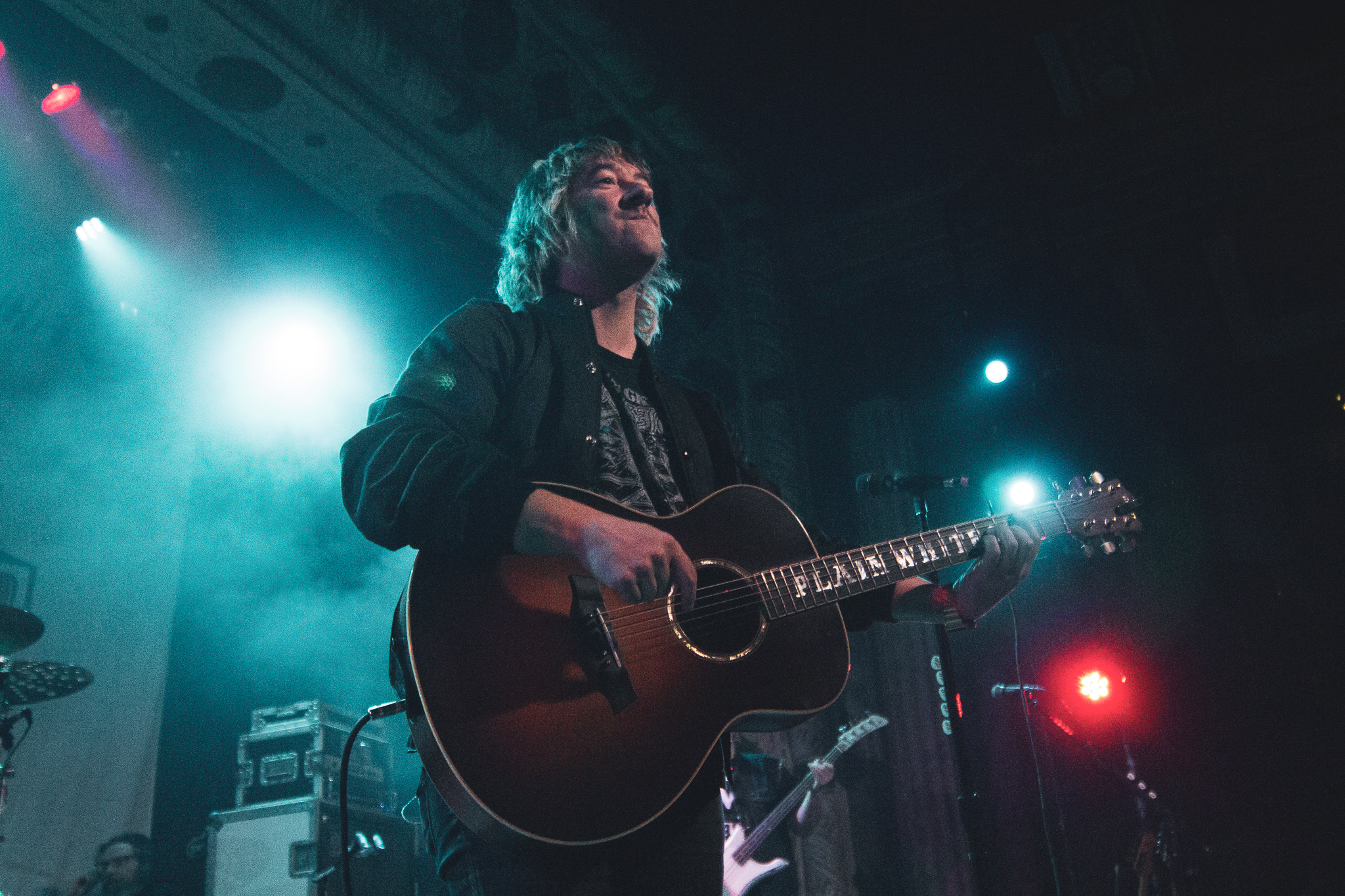 Tom Higgenson of The Plain White T's at The Metro in Chicago, IL on 11/12/2019 Photo; Abby Hamann