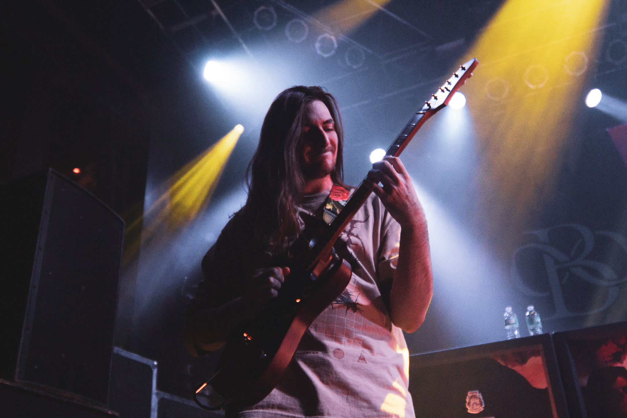 Scott LePage of Polyhia in Chicago, IL at The House of Blues on 12/01/2019. Photo: Abby Hamann
