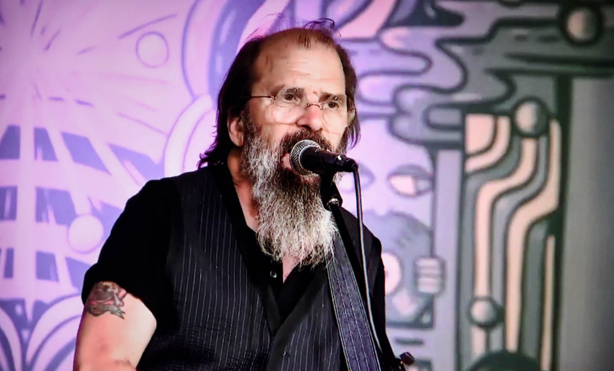 Virtual In-store performance by Steve Earle for new album, Ghosts of West Virginia - 5.15.2020