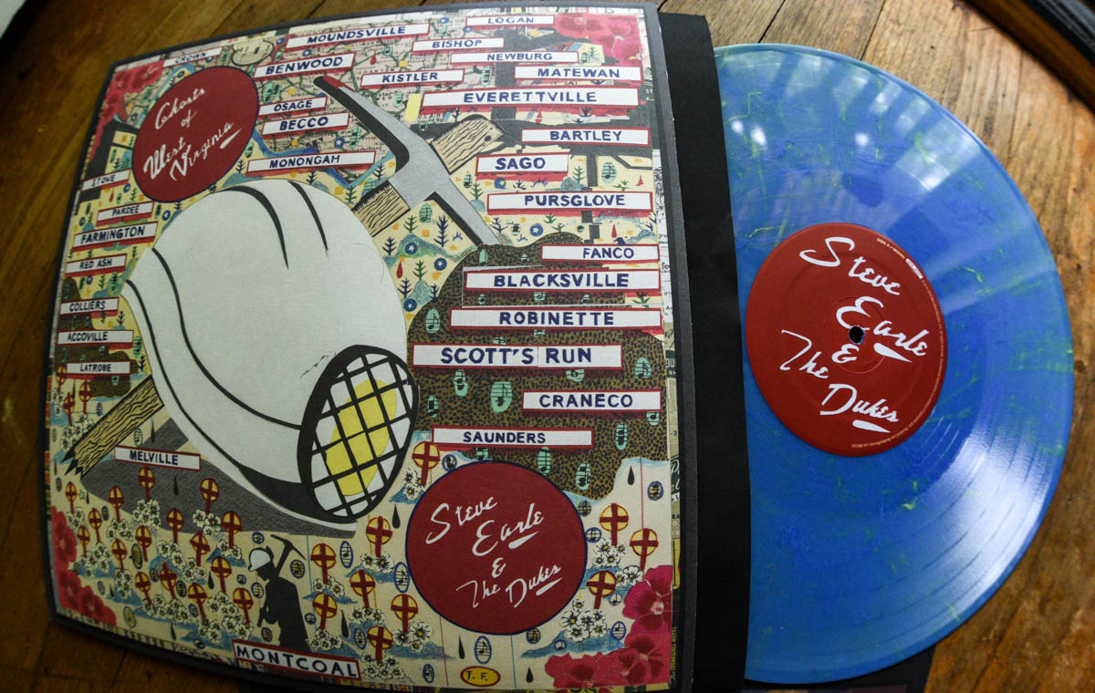 Steve Earle and The Dukes - Ghosts of West Virginia Limited Edition LP