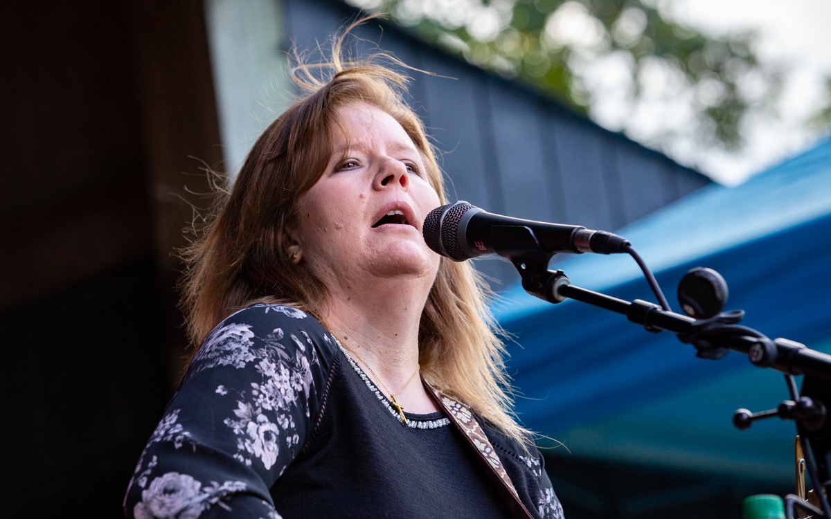 Sherry Viar performing in the Women Who Rock Festival at Harbor Blast Concert Series in Prince George, VA on September 12, 2020. Photo Credit: © Dave Pearson 2020