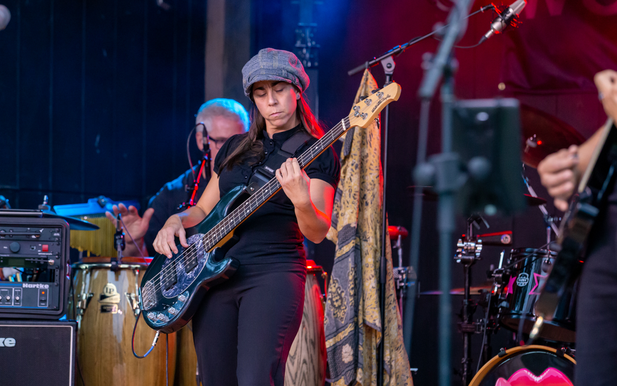 Crystal Visions Fleetwood Mac / Stevie Nicks Tribute performing in the Women Who Rock Festival at Harbor Blast Concert Series in Prince George, VA on September 12, 2020. Photo Credit: © Dave Pearson 2020