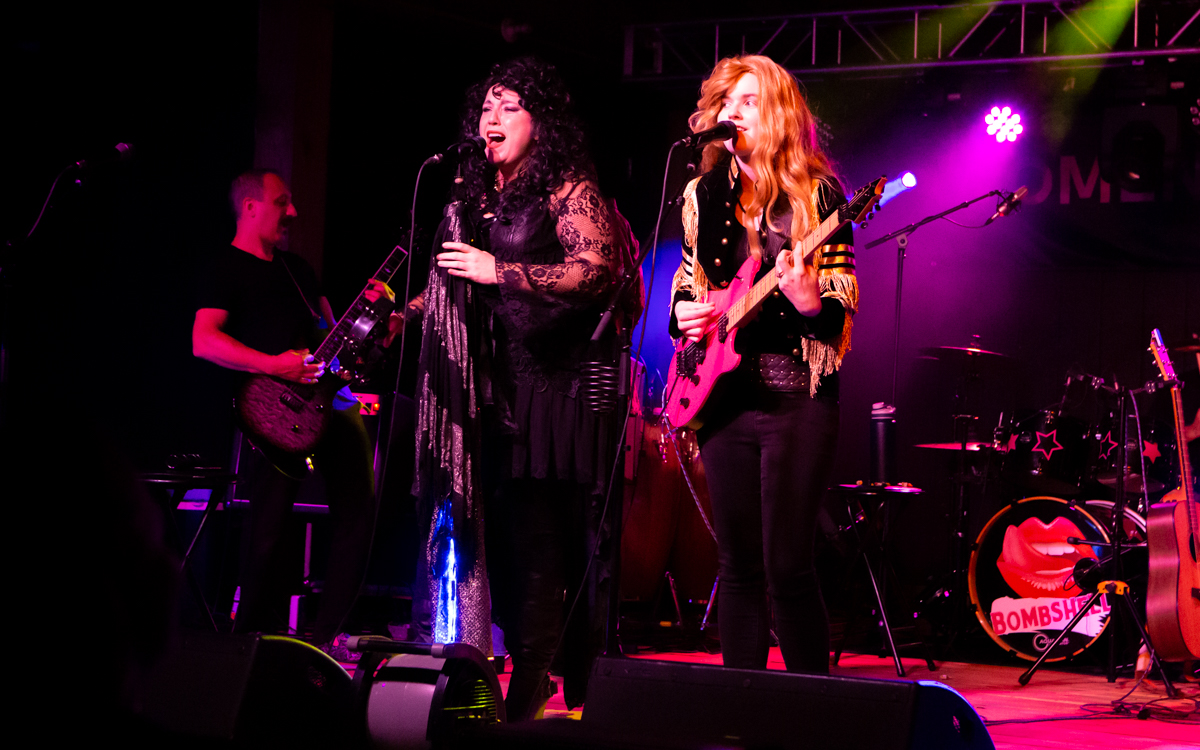 These Dreams Heart Tribute Band performing in the Women Who Rock Festival at Harbor Blast Concert Series in Prince George, VA on September 12, 2020. Photo Credit: © Dave Pearson 2020