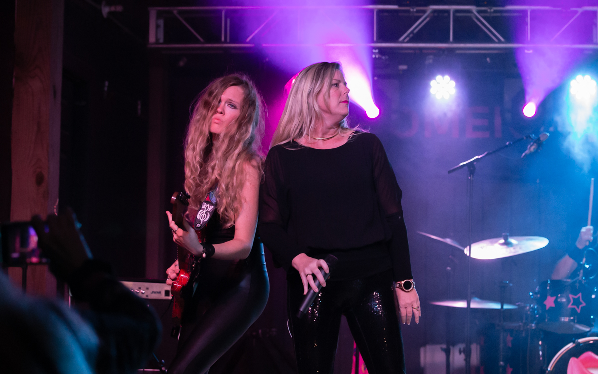 Bombshell RVA performing in the Women Who Rock Festival at Harbor Blast Concert Series in Prince George, VA on September 12, 2020. Photo Credit: © Dave Pearson 2020