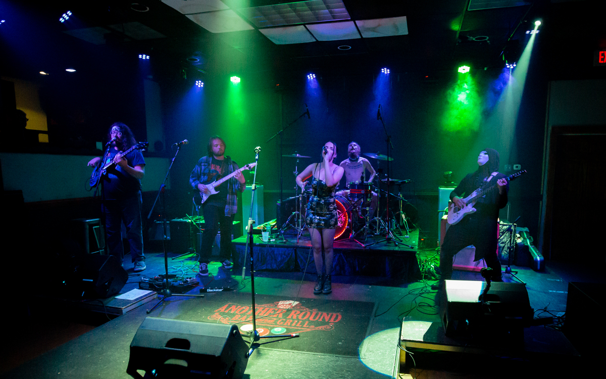 The Emma Garell Band  performing in the First Annual Rocking For Recovery at Another Round Bar and Grill  in Richmond, VA on September 26, 2020. Photo Credit: © Dave Pearson 2020