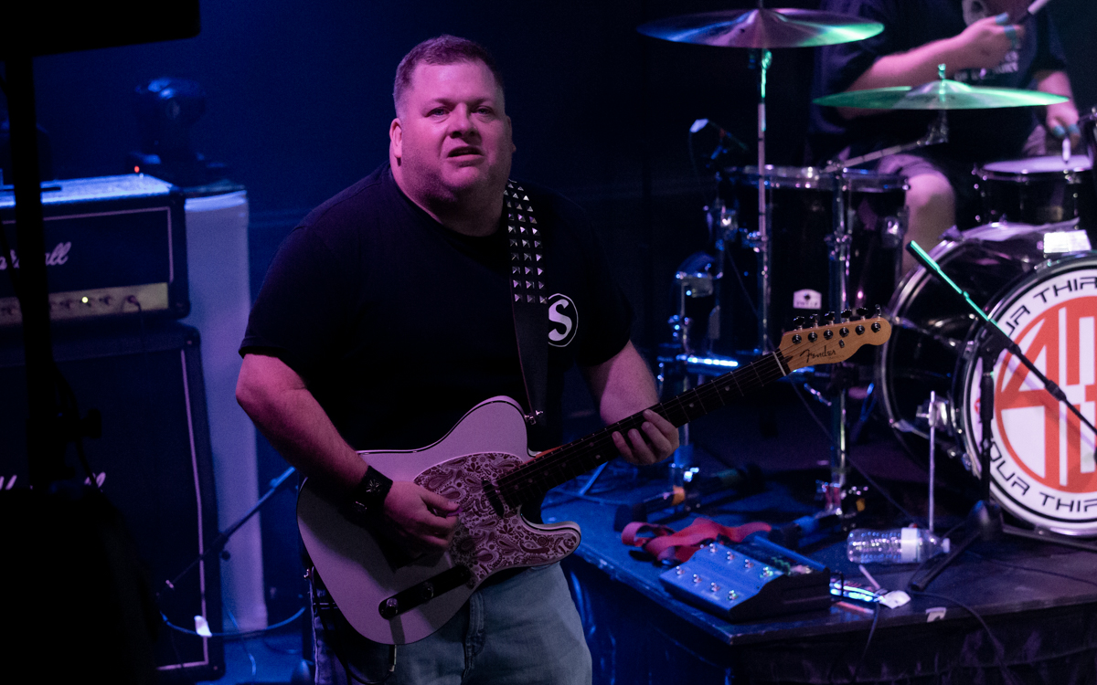 The Four Thirty Four Band  performing in the First Annual Rocking For Recovery at Another Round Bar and Grill  in Richmond, VA on September 26, 2020. Photo Credit: © Dave Pearson 2020