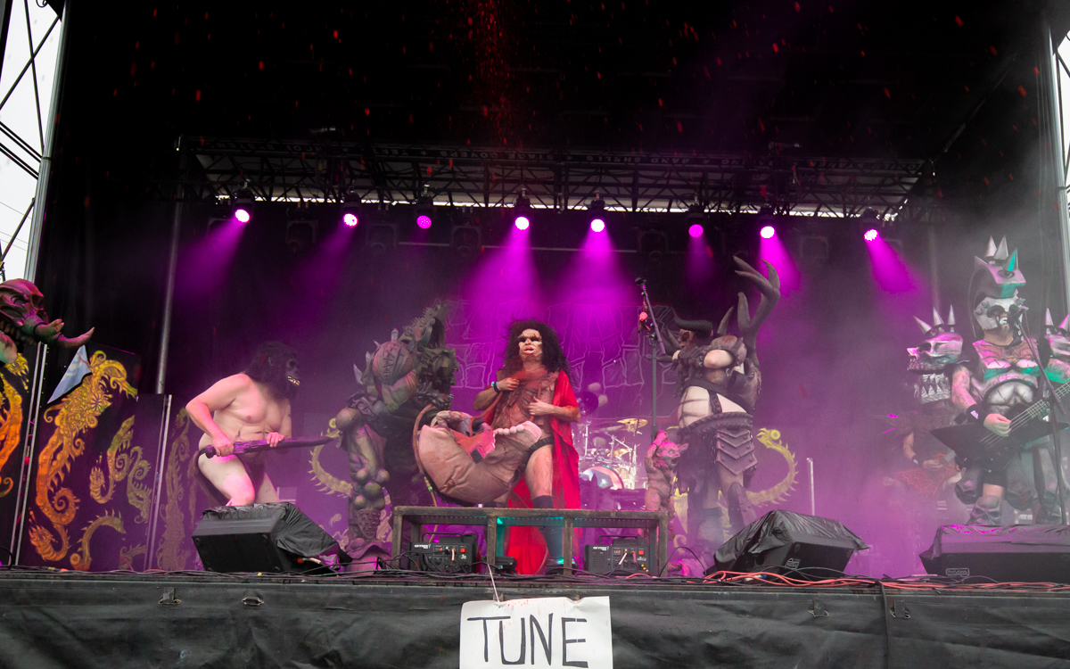 GWAR  performing at The Diamond   in Richmond, VA on October 10, 2020. Photo Credit: © Dave Pearson 2020