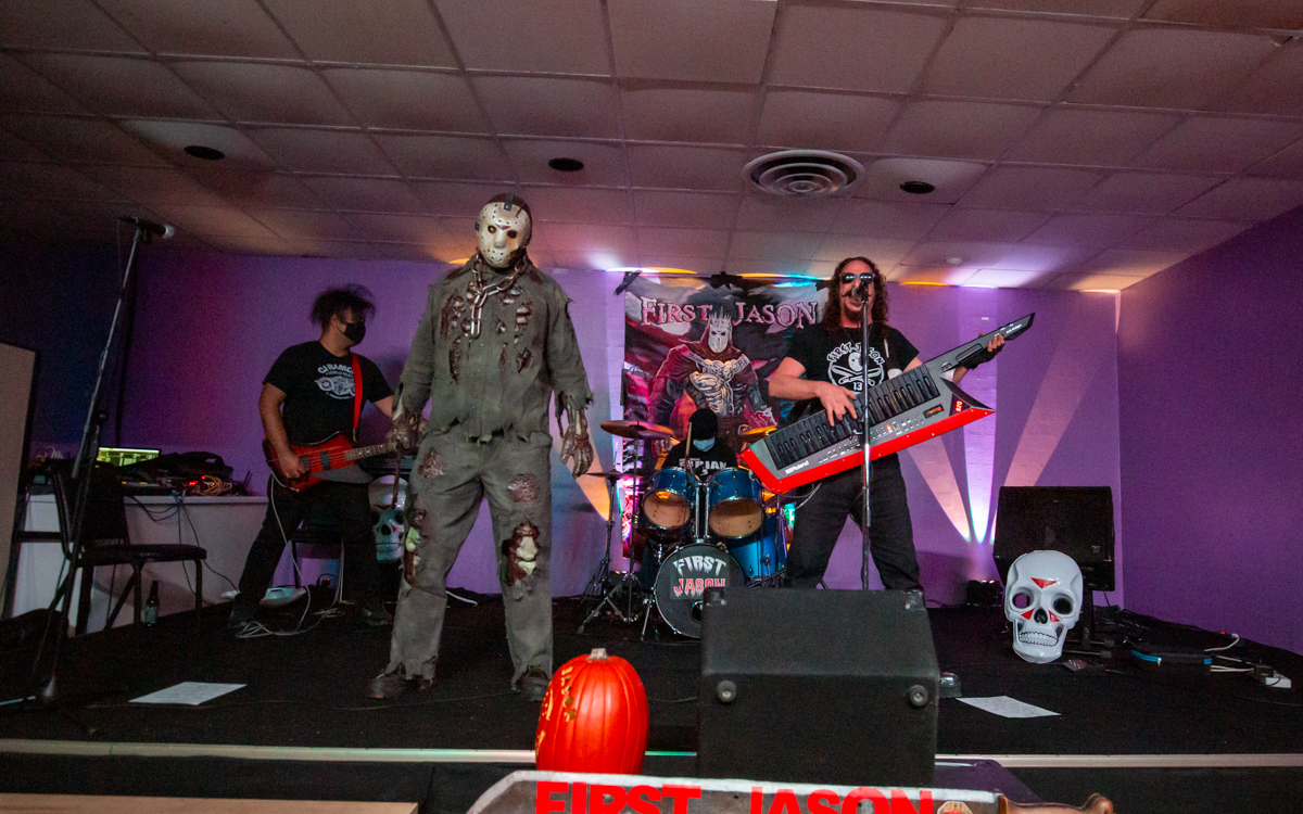 First Jason at Rick's Rock Café  in Richmond, VA on October 17, 2020. Photo Credit: © Dave Pearson 2020