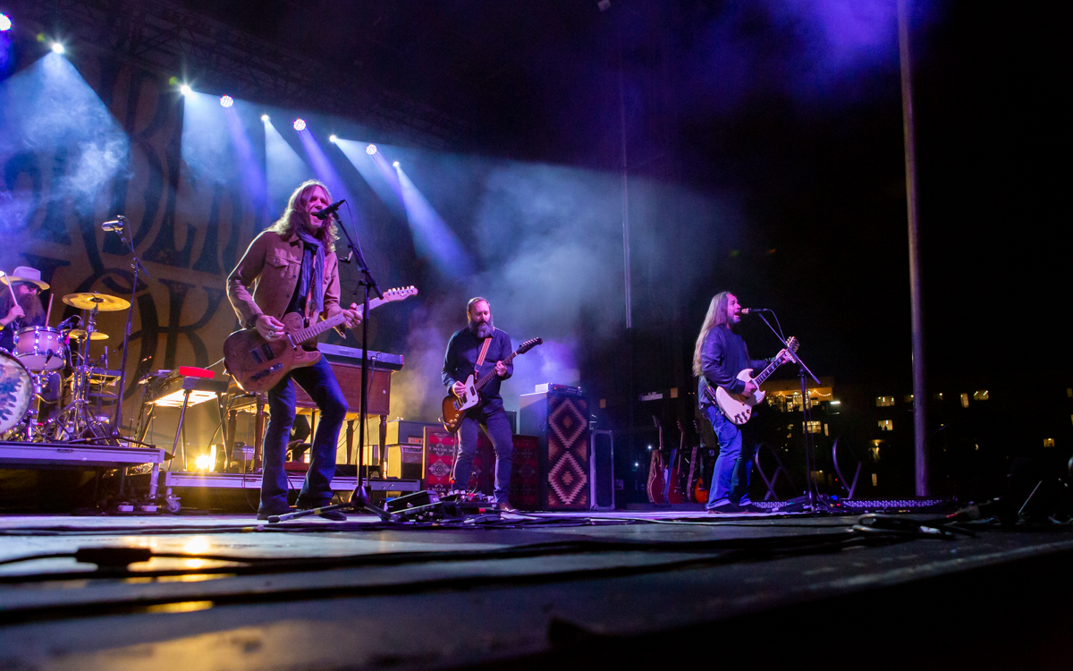 Blackberry Smoke at Bon Secours Training Center  in Richmond, VA on November 13, 2020. Photo Credit: © Dave Pearson 2020-011