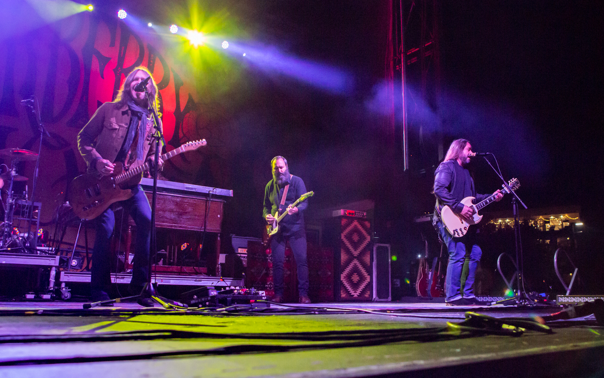 Blackberry Smoke at Bon Secours Training Center  in Richmond, VA on November 13, 2020. Photo Credit: © Dave Pearson 2020