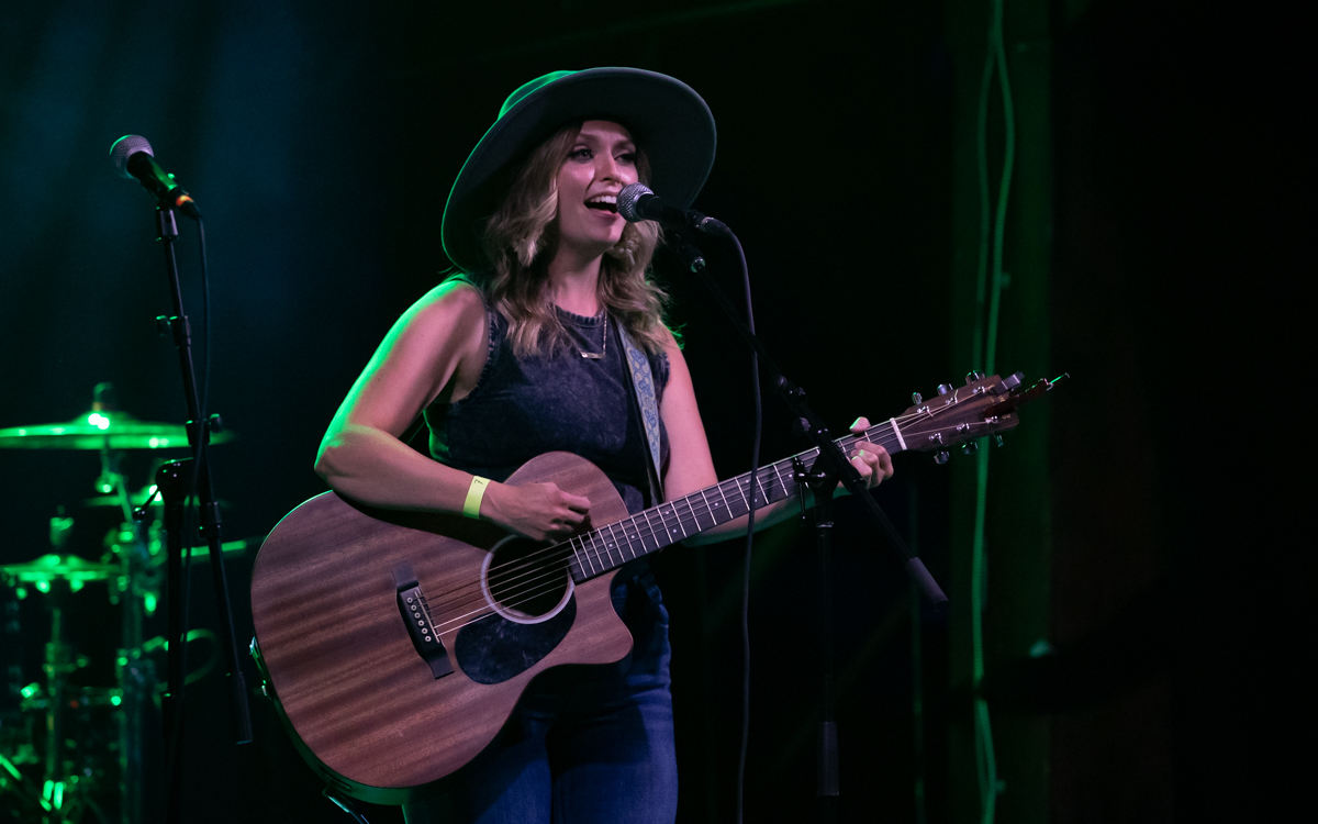 Enya Agerholm performing at The Canal Club in Richmond, VA on July 10, 2021. Photo Credit: © Dave Pearson 2021