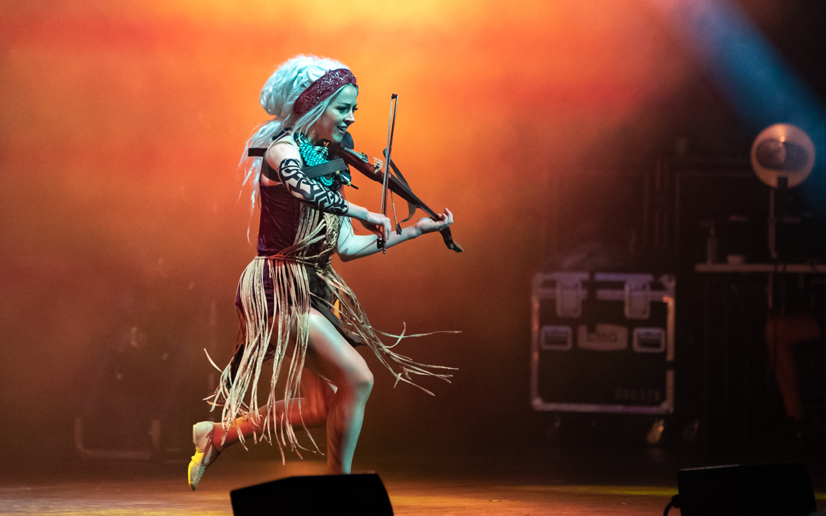 Lindsey Stirling performing at Wolf Trap in Vienna, VA on August 5th, 2021. Photo Credit: © Dave Pearson 2021