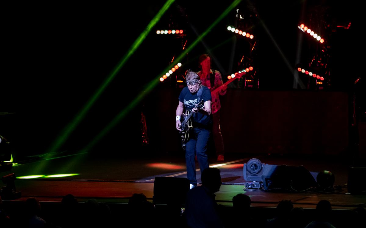 George Thorogood and the Destroyers performing at Wolf Trap in Vienna, VA on August 12th, 2021. Photo Credit: © Dave Pearson 2021
