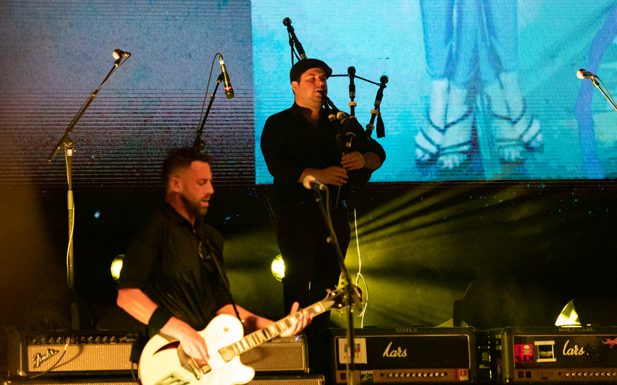 The Dropkick Murphys performing at Virginia Credit Union Live in Richmond, VA on August 25th, 2021. Photo Credit: © Dave Pearson 2021