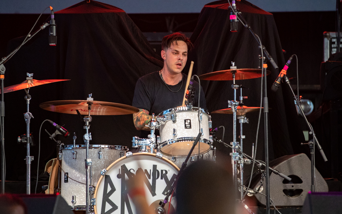 The Bronx performing at Virginia Credit Union Live in Richmond, VA on August 25th, 2021. Photo Credit: © Dave Pearson 2021