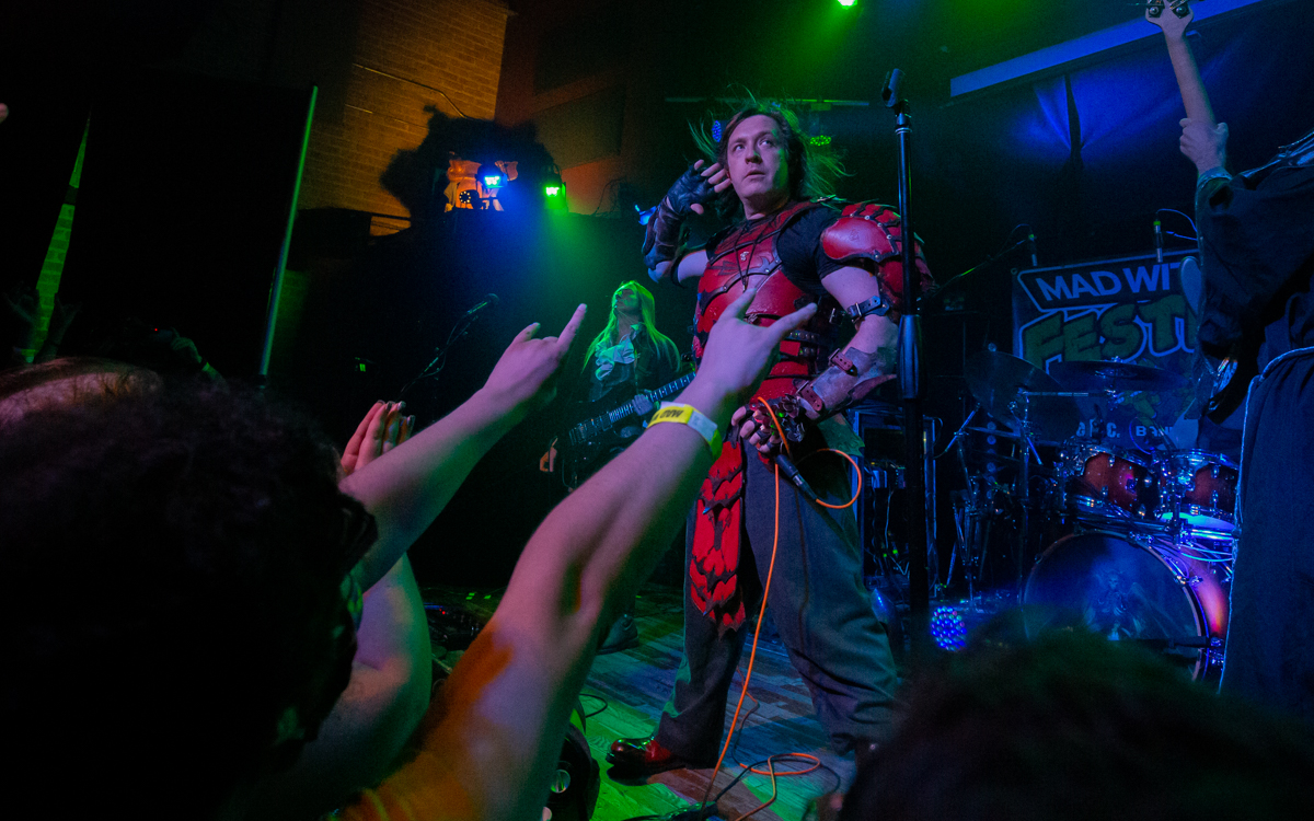 Lords of the Trident performing at Mad With Power IV in Madison, WI on August 28th, 2021. Photo Credit: © Dave Pearson 2021